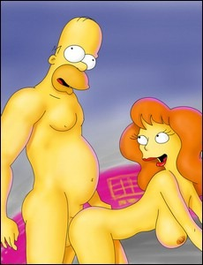 sex with the simpsons family